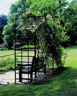 rosenlaube rosenlauben f r kletterrosen und rambler. Black Bedroom Furniture Sets. Home Design Ideas