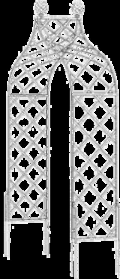 aus metall gefertigte rosenb gen in verschiedenen ausf hrungen. Black Bedroom Furniture Sets. Home Design Ideas